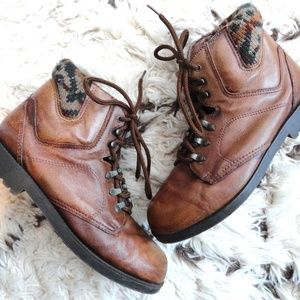 Shoes - Brown Leather Boots | Southwest Booties 7